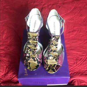 Shoes - Steve Madden multi colored shoes
